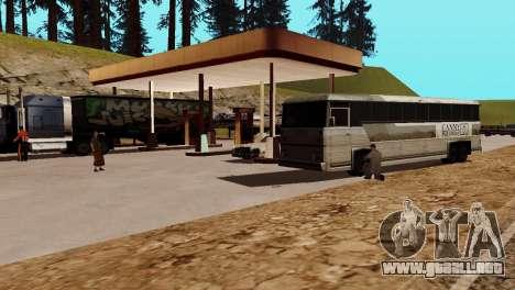La recuperación de las estaciones de San Fierro para GTA San Andreas décimo de pantalla