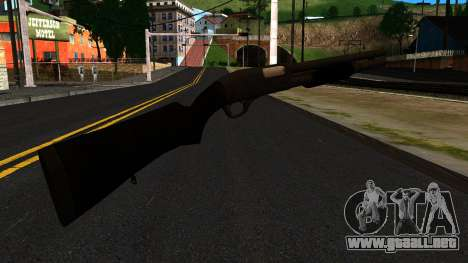 Negro MP-133 Sin Brillo para GTA San Andreas segunda pantalla