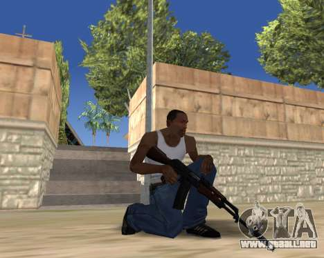 HD Weapon Pack para GTA San Andreas octavo de pantalla