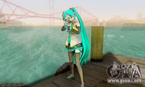 Hatsune Miku Dreamy Theater para GTA San Andreas sucesivamente de pantalla