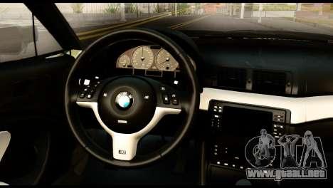 BMW M3 E46 TSK para la visión correcta GTA San Andreas