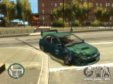 Big Car Damage para GTA 4 tercera pantalla