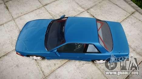 Nissan Silvia S13 Missile para GTA 4 visión correcta