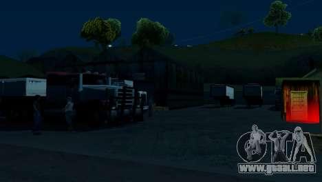 La recuperación de las estaciones de San Fierro para GTA San Andreas segunda pantalla