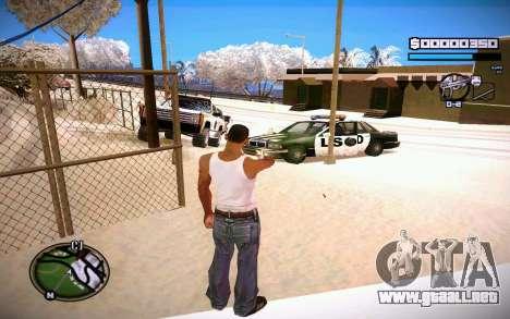 HUD GOSKA para GTA San Andreas tercera pantalla