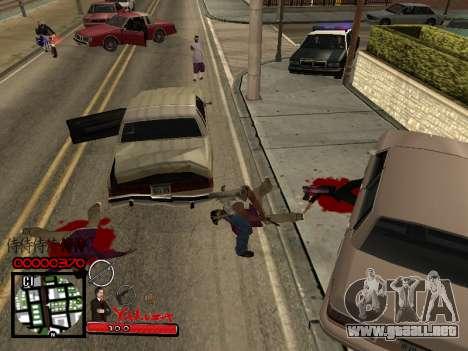 C-HUD Yakuza para GTA San Andreas tercera pantalla