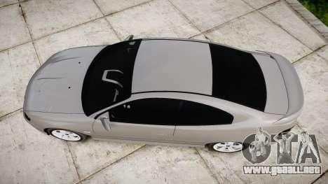 Pontiac GTO 2006 17in wheels para GTA 4 visión correcta