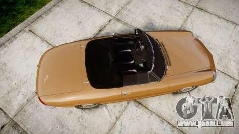 Alfa Romeo Spider 1966 para GTA 4 visión correcta