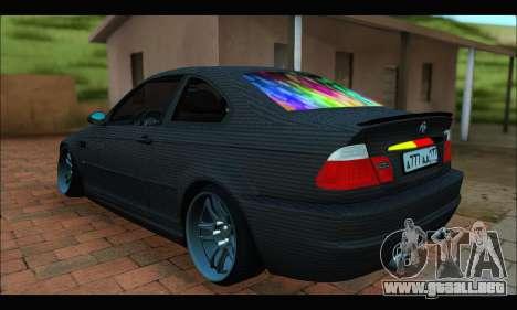 BMW M3 E46 Carbon para GTA San Andreas left