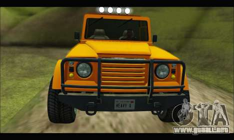Canis Bodhi (GTA V) para GTA San Andreas left