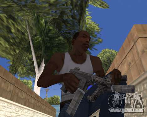 HD Weapon Pack para GTA San Andreas quinta pantalla