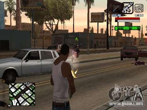 Nice C-HUD para GTA San Andreas