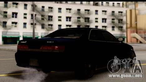 Toyota Mark 2 100 para GTA San Andreas left
