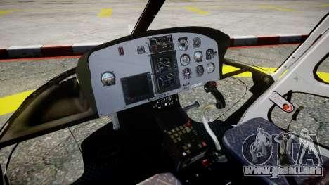 Eurocopter AS350 Ecureuil Aguia 11 PMESP para GTA 4 visión correcta