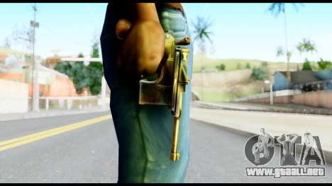 Mauser from Metal Gear Solid para GTA San Andreas tercera pantalla