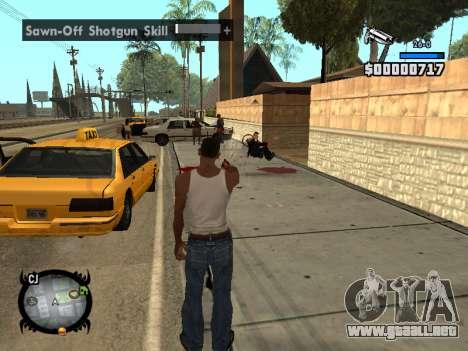 HUD by LMOKO para GTA San Andreas sucesivamente de pantalla
