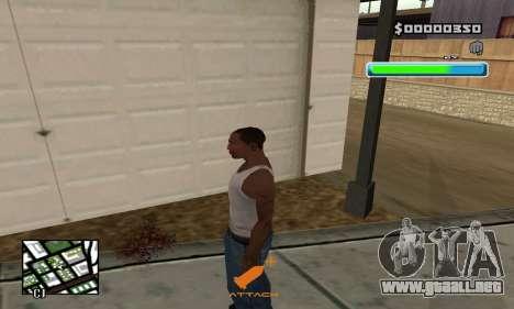 C-HUD Compact para GTA San Andreas segunda pantalla