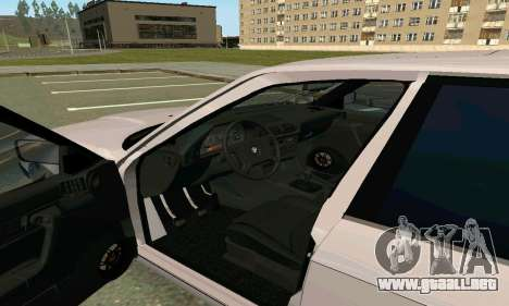 BMW 525 Turbo para GTA San Andreas vista hacia atrás