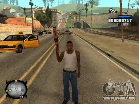 HUD by LMOKO para GTA San Andreas quinta pantalla