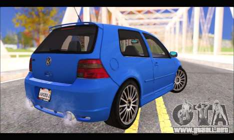 VW Golf R32 - Stock para GTA San Andreas left