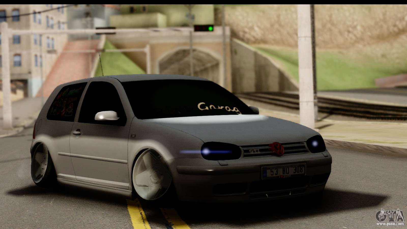 volkswagen golf 4 tuning para gta san andreas. Black Bedroom Furniture Sets. Home Design Ideas