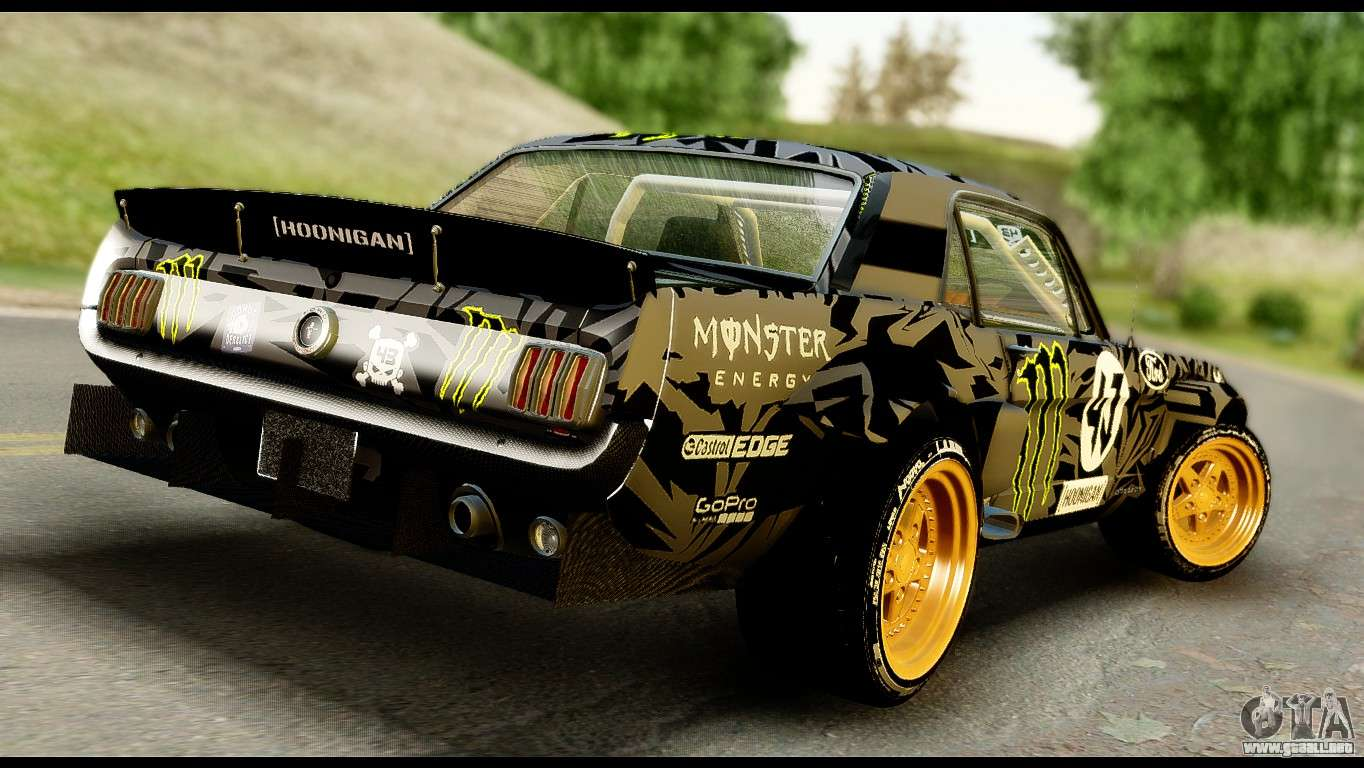 ford mustang 1965 ken block para gta san andreas. Black Bedroom Furniture Sets. Home Design Ideas