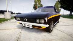 Opel Manta A Black Magic para GTA 4
