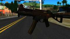 UMP9 from Battlefield 4 v2 para GTA San Andreas