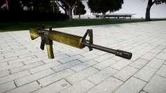 El rifle M16A2 de oliva