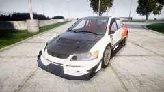 Mitsubishi Lancer Evolution IX HQ para GTA 4