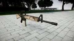 El rifle M16A2 [óptica] sahara