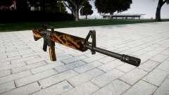 El rifle M16A2 tigre para GTA 4