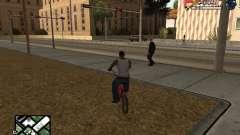 С-HUD por SampHack v. 21 para GTA San Andreas