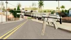 MP5 con la Culata Plegada para GTA San Andreas