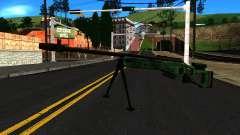 El SV-98 con un Bípode y no de la mira trasera para GTA San Andreas