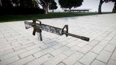 El rifle M16A2 siberia