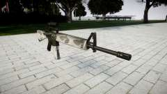 El rifle M16A2 [óptica] yukon