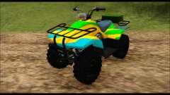 ATV Color Camo Army Edition para GTA San Andreas