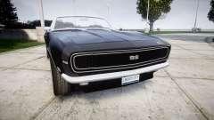 Chevrolet Camaro Mk.I 1968 rims2 para GTA 4