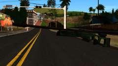 El SV-98 sin el Bípode y el Alcance para GTA San Andreas