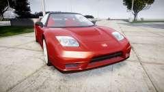 Honda NSX-R para GTA 4