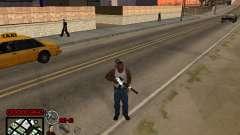C-HUD Yakuza para GTA San Andreas