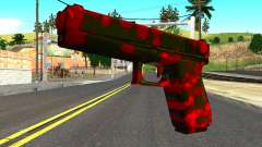 Pistol with Blood para GTA San Andreas