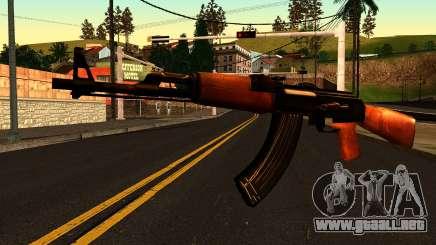 AK47 from Chernobyl 3: Underground para GTA San Andreas