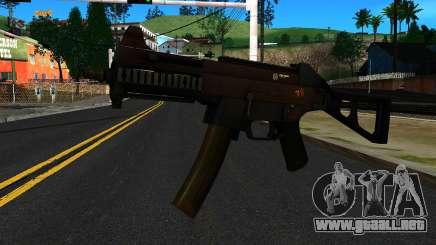 UMP9 from Battlefield 4 v2 para GTA San Andreas