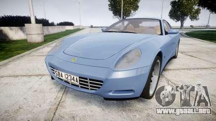 Ferrari 612 2007 Hamann para GTA 4