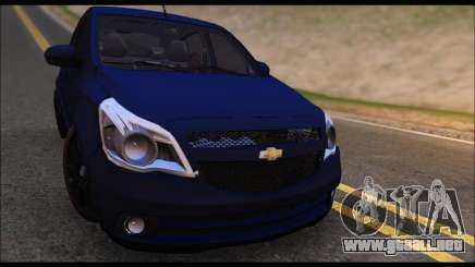 Chevrolet Agile Tunning para GTA San Andreas