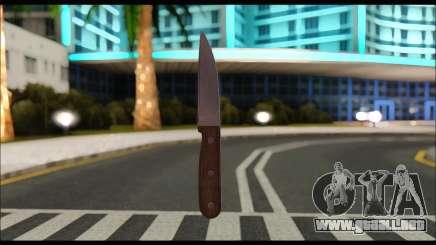Cuchillo rumano CR1 para GTA San Andreas
