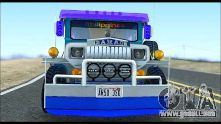 Light Jeepney para GTA San Andreas