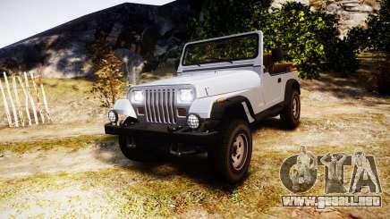 Jeep Wrangler 1988 para GTA 4